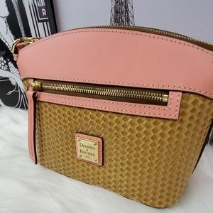 NWT Dooney & Burke Light Pink Crossbody